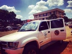 The new Nyika-Vwaza car
