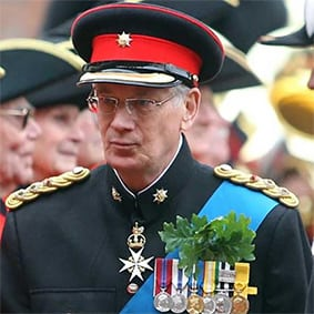 HRH Duke of Gloucester
