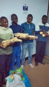 Two police officers were amongst those convicted of ivory trafficking today