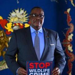 PRESIDENT MUTHARIKA BACKS MALAWI'S STOP WILDLIFE CRIME CAMPAIGN