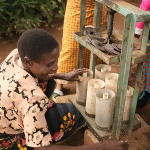 IMG_2682Community engagement briquette making_Lilongwe_March 2020