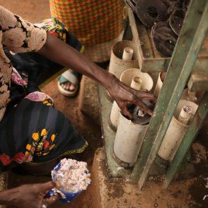 IMG_2687Community engagement briquette making_Lilongwe_March 2020