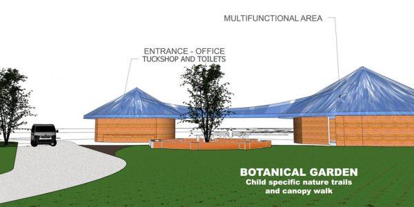 LWC new education hub 3D drawing