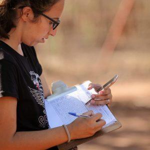 Marta recording observations