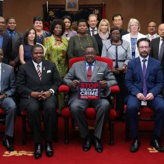 MALAWI PRESIDENT FRONTS STOP WILDLIFE CRIME FILM