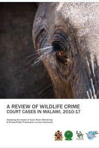 Wildlife Justice Report 2017 cover