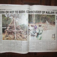 TO BURN OR NOT TO BURN: CONTROVERSY OF MALAWI IVORY