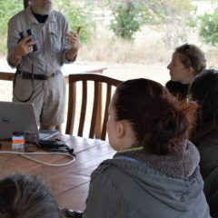 IAN REDMOND JOINS LWT FOR THE PRIMATE CONSERVATION COURSE